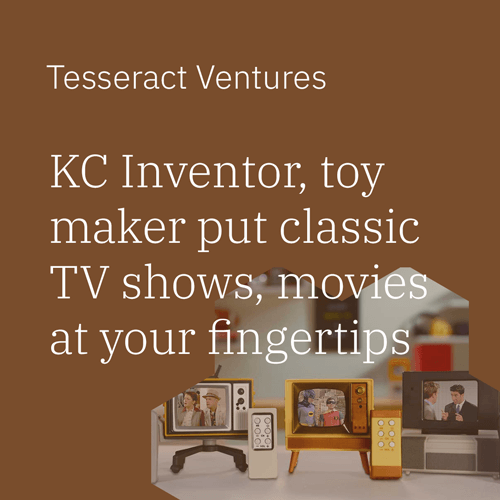 KC inventor, toy maker put classic TV shows, movies at your fingertips