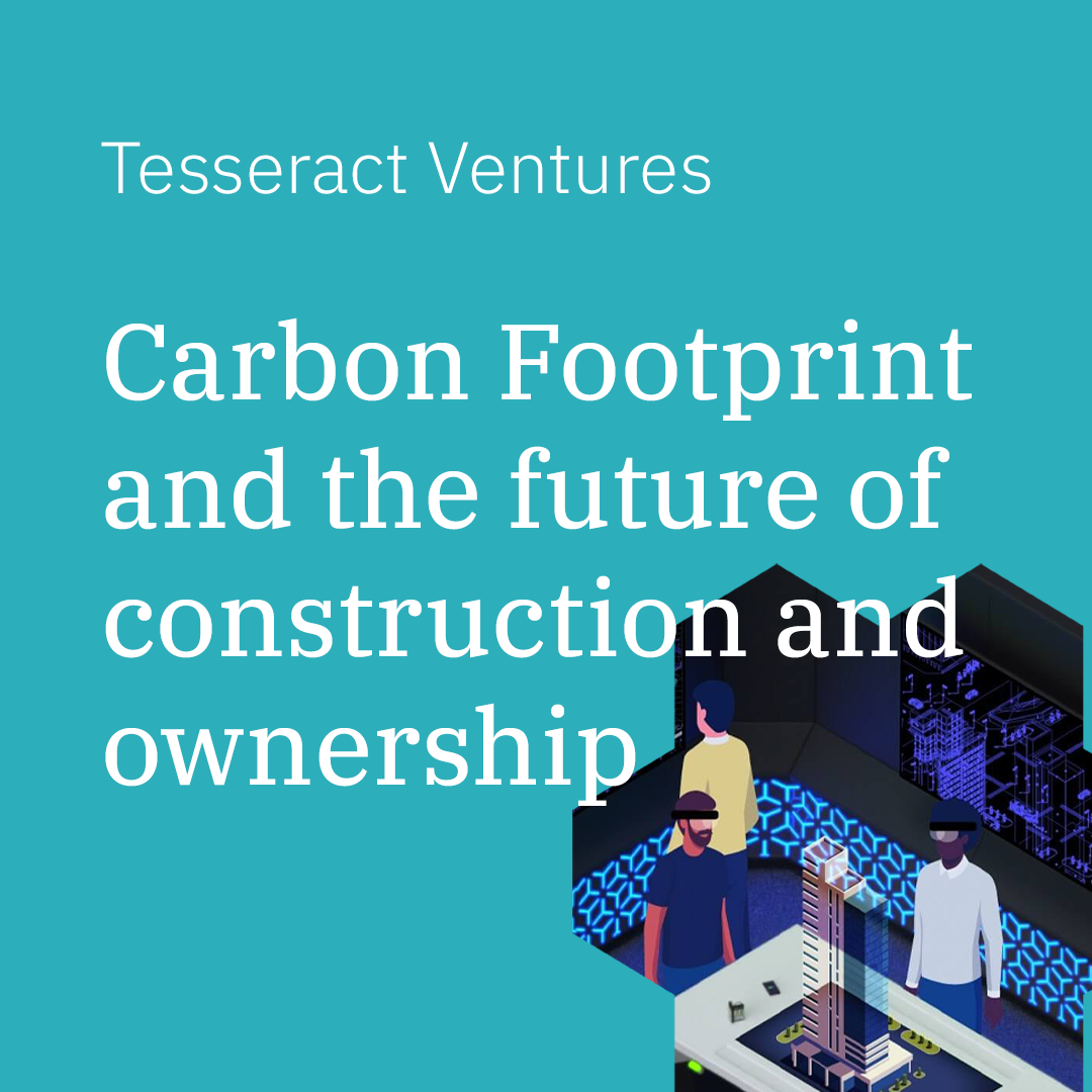 Future of Ownership: Carbon Footprint and the future of construction and ownership.